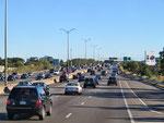 Bostoner Sonntag-Abend-Verkehr