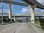 Houston/Katy - Autobahnbrücken-Gewühl