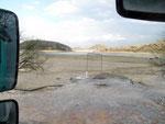 """""""El Faro de Peter RV Park"""" - der Stausee oder was davon noch übrig ist..."""
