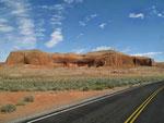 """""""Uluru"""" von Halls Crossing"""