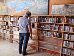 Freiluft-Bibliothek...
