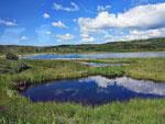 kleine Seen auf der Rückfahrt