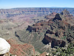 Grand Canyon North Rim - Cape Royal - Walhalla Overloock