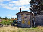 Freilichtmuseum kurz hinter der Grenze