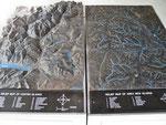 Landschaftsrelief Glarus - New Glarus