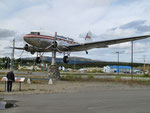 Whitehorse Airport - Immer die Nase im Wind - the world's biggest weather vane