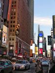 Times Square - rauf und runter
