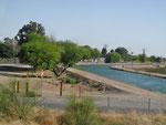 Ein weiterer Bewässerungskanal