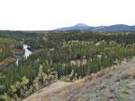 Miles Canyon - Blick auf Yukon und Golden Horn