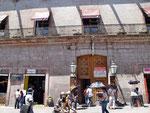 unscheinbar - aber das grösste Haus in Querétaro - hinter den Fassaden