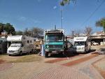 San Miguel de Allende, San Miguel Tennis RV Park - hier sind wir und hier bleiben wir - mal für so ca. 2 Mte