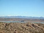 """Elephant-Butte Lake - hier wird alles Wasser von Rio Grande """"gebunkert""""..."""