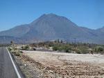 Volcano Los tres Virgenes