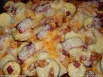 Zarahzetas Lebenskunst mit Überbackene Zucchinipizza