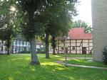 Kirchplatz Flierich --- Blick nach Norden