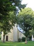 Ev. Kirche Flierich ---Süd-West-Ansicht