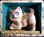 Angelcat, 2013, 10 x 8 x 3,5 cm (sold)