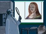 Mona Lisa & der Radiologe