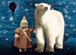 Chistmas Child and Polar Bear (available as postcard)
