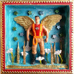 Guardian Angel, 2013, 15 x 15 x 3 cm (sold)