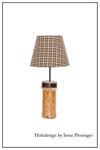 Tischlampe Rustika Holzdesign Irene Prosinger