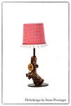 Tischlampe Rotkäppchen Holzdesign Irene Prosinger