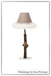 Tischlampe  Schneewittchen Holzdesign Irene Prosinger