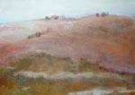 Methaphysische Landschaft, Mischtechnik Acryl a. LW - 50 x 70 cm