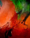 Lichtblick /Acryl a. LW - 100 x 80 cm