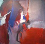 Zwielicht / Acryl a. LW - 100 x 100 cm