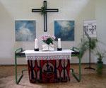 Altarbilder in der evangelichen Kirche in Wiesbaden Schelmengraben - je 100 x 100 cm