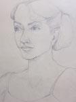 - Bleistiftzeichnung auf Papier - A4