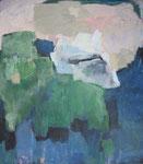 Begegnungen / Acryl a. LW - 100 x 90 cm