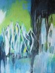 Licht und Farbe, Mischtechnik Acryl a. LW - 80 x 60 cm