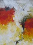 Begegnung / Acryl a. LW. - 80 x 60 cm