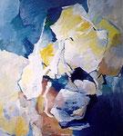 Tag und Nacht / Acryl a. LW. - 90 x 80 cm