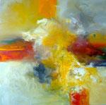 Lob des Herbstes / Acryl a. LW. - 80 x 80 cm
