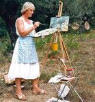 früher - in der Toscana mit Hermann Haindl