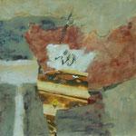Mischtechnik a. Papier -22 x 21 cm