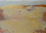 Methaphysische Landschaft, Mischtechnik Acryl a. LW - 30 x 40 cm