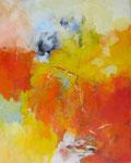 Begegnung / Acryl a. LW. - 100 x 80 cm