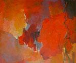 Abendrot, Acryl a. LW  - 100 x 120 cm