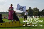 Deutsche Meisterin GL 2000m