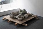 Ovarium, Beton gefärbt, 25-teilig, 45x240x240 cm, BBK Kunstquartier, 2018
