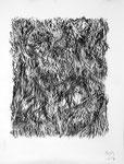 150514, Kohle auf Papier, 150 x 120 cm