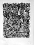 040216, Kohle auf Papier, 150 x 120 cm