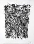 210314, Kohle auf Papier, 150 x 120 cm