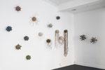 Ausstellungsansicht Boten, BBK Kunstquartier, 2018