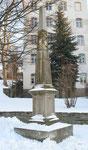 Distanzsäule Annaberg, Wolkensteiner Straße