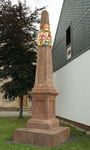 Distanzsäule Geithain, Dresdner Straße